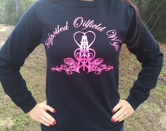 Spoiled Oilfield Wife tshirt!!
