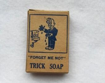 Vintage trick soap box