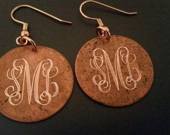 Artisan Copper Earrings
