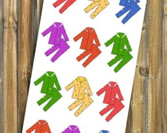Pajama Planner Stickers
