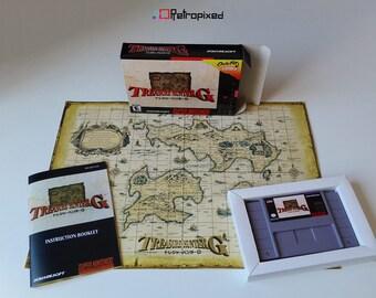 Treasure Hunter G - NTSC - (CIB SNES Reproduction) Limited Edition!