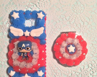 Captain America Note 5 decoden case