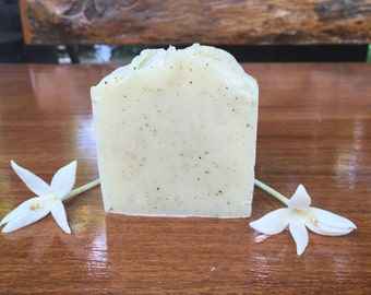 Green Bean Soap 100% Natural Cold Process Soap, Unscented and Vegan