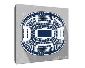 Dallas Football (AT&T) Stadium Canvas Print