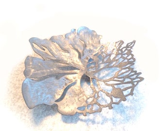 Metal Flower Petal Bowl