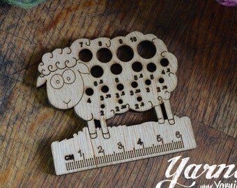 Sheep (Design 1) Knit and Crochet Tool