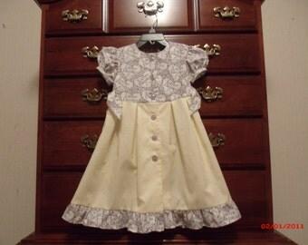 Little Girls Easter Dress, Spring Dress, Church dress