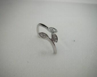 gold diamond ring 0,008ct x 6