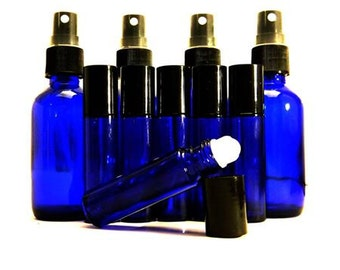 4 Atomizer bottles and 6 Roller bottles
