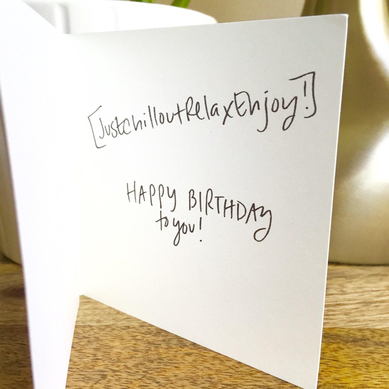 Cool Birthday Card – gangcraft