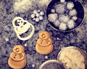 Christmas Cookie Cutters : Snowman Christmas Cookie Cutter , Great Stocking Stuffer , Stocking Stuffers