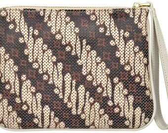 Batik Leather Wrislet - Unique