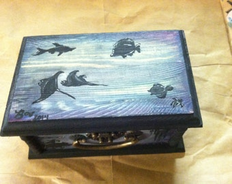 Deep Sea Themed Trinket Box