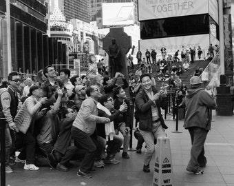 Time Square - 18x24