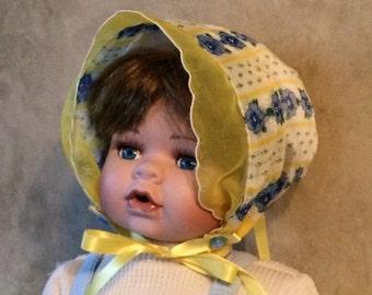 """Vintage """"Hankie"""" Bonnet"""