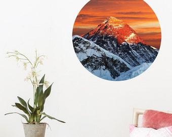 Mt Everest Dot Wall Decal