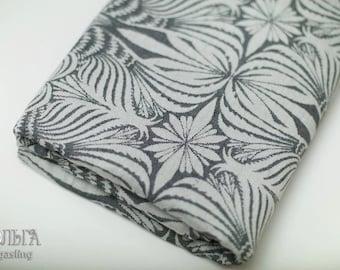 Birds Maxi Monochrome woven wrap