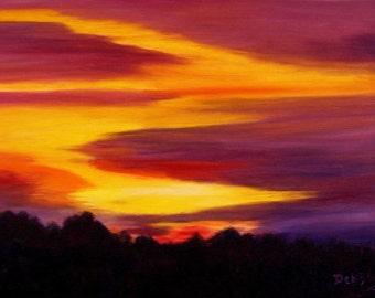 Hooiser Sunset