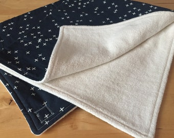 Organic Sherpa Baby Blanket---ready to ship!!