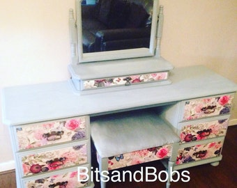 SOLD Dressing table mirror