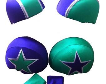 3 Colour Bouting roller derby helmet panties