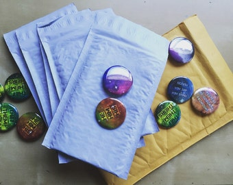 Upgraded button shipping with tracking
