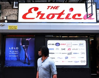 The Erotica© - NYC Street Scene - Color Photography