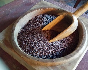 Dried Whole Brown or Yellow Mustard Seed Bowl Filler