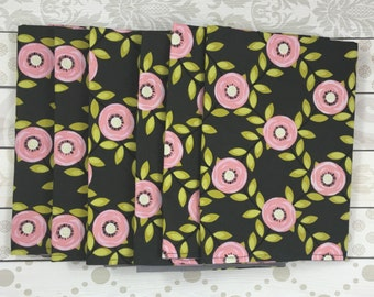 Floral Cloth Napkins - Cloth Napkins - Holiday Entertaining - Christmas Gift - Stocking Stuffer - Hostess Gift