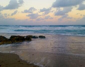 Beach Photography- Peace Like a River