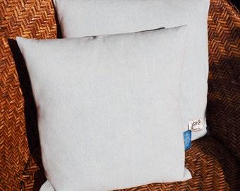 Cushion Denim Bleached, 100% handmade