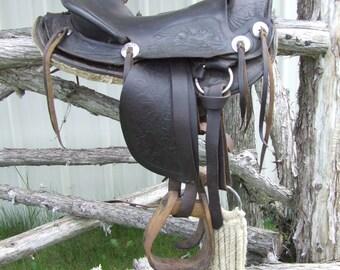Vintage Western Pony saddle