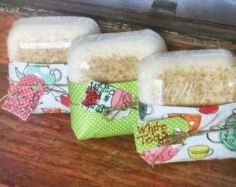 White Tea and Ginger Goats Milk Soap