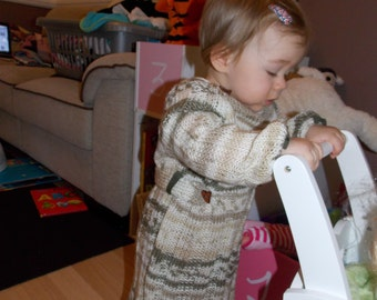 Handmade Dress, baby girl 9-12 months
