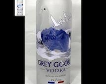 Grey Goose Vase