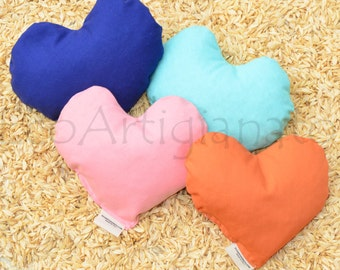 4 Hearts wrist rest or heating pad With spelt chaff