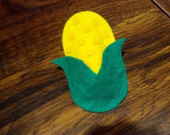 Plush Corn Magnet