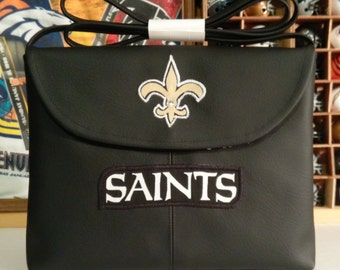 New Orleans Saints crossbody purse