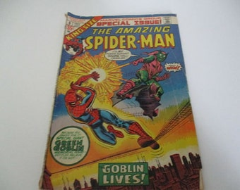 Vintage Marvel Comics Group Special Issue The Amazing Spider-man Comic Book NO 9 1973