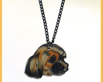 Pendant personalized your pet crazy plastic.