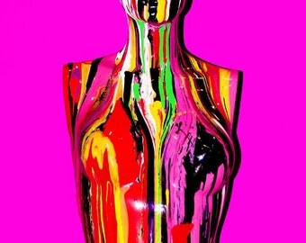 Limited Edition A3 Psychedelic Pop Art Print