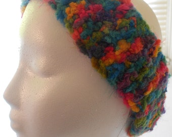 Multicolor skinny earwarmer/ headband