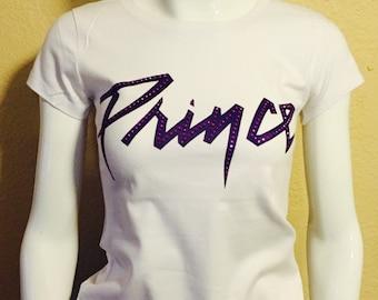 Prince  t-shirt purple rain