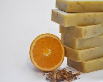 Sweet Orange and Calendula Soap / Artisan Soap / Vegan Soap / Palm Oil Free / Handmade in Australia