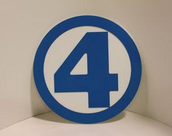 Classic Fantastic Four Wall emblem