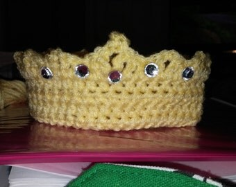 Crochet Newborn Crown