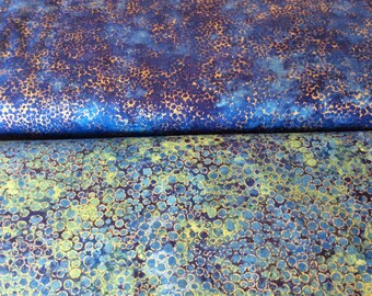 "Northcott, ""Shimmer"" Blue by the half yard"