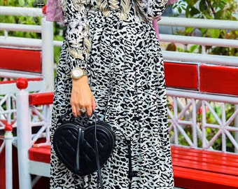 Animal Print Dress ANNAH HARIRI