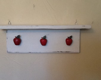 Apple wall shelf