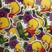 Bart Simpson Kewpie Sticker